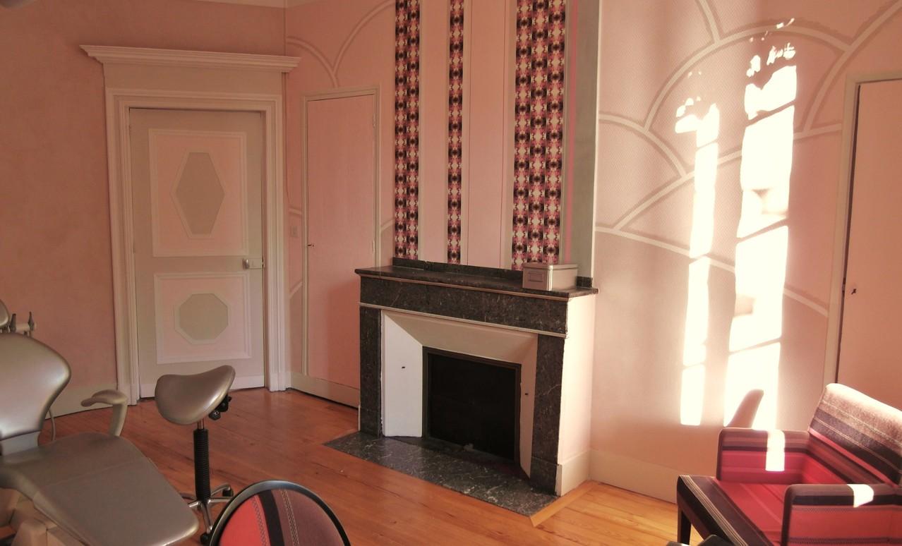 cabinet d 39 orthodontie herve cluson d corateur architecte decoration createur chaux fresque staff. Black Bedroom Furniture Sets. Home Design Ideas