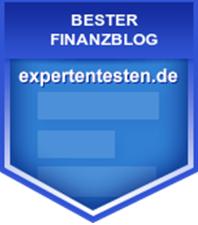 Expertentesten, bester Finanzblog Auszeichnung FinaFair