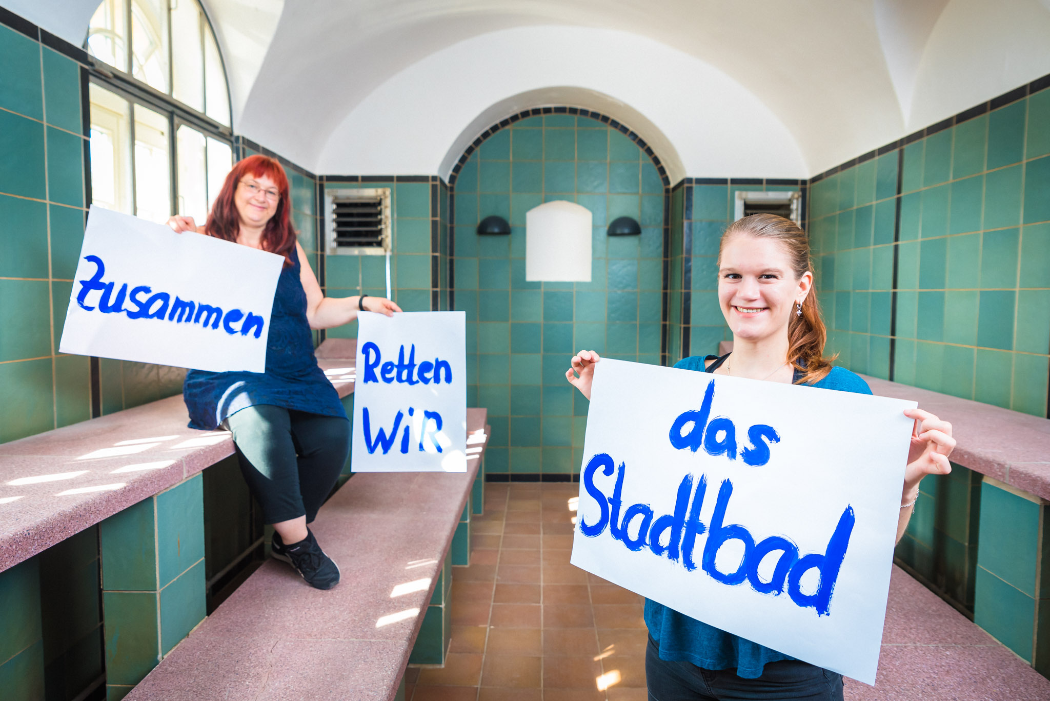 Kampagne: Stadtbad Halle
