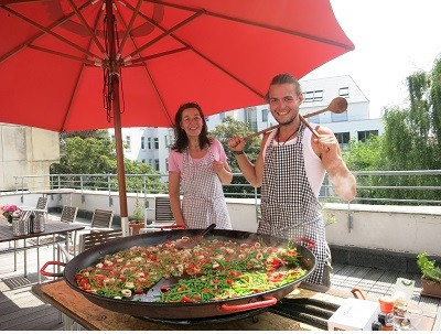 Paella  mit Paul & Annette