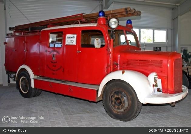 Mercedes-Benz LF 15: Das Fahrzeug wurde 1949 in Dienst gestellt und wurde 1979 von der FFW Helmbrechts übernommen. Das Fahrzeug leistete bis 1986 für die FFW Kleinschwarzenbach gute Dienste. Es steht heute im Oberfränkischen Feuerwehrmuseum in Schauenstei
