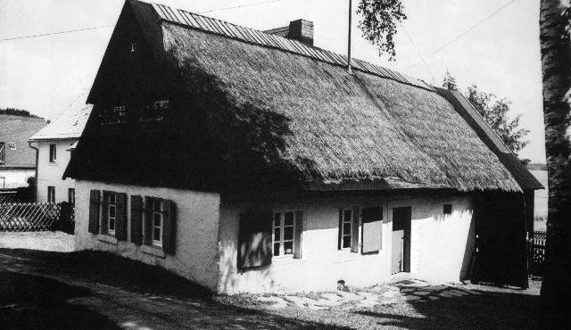 Weberhaus in Kleinschwarzenbach
