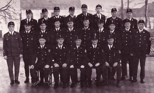 Mannschaft im Jahre 1971