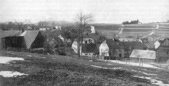 Kleinschwarzenbach in den 30er Jahren