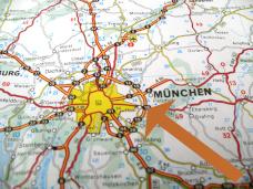 Optimale Lage von Elodie Serviced Apartments im Osten von München mit Anschluss an Autobahn, Flughafen und MVV