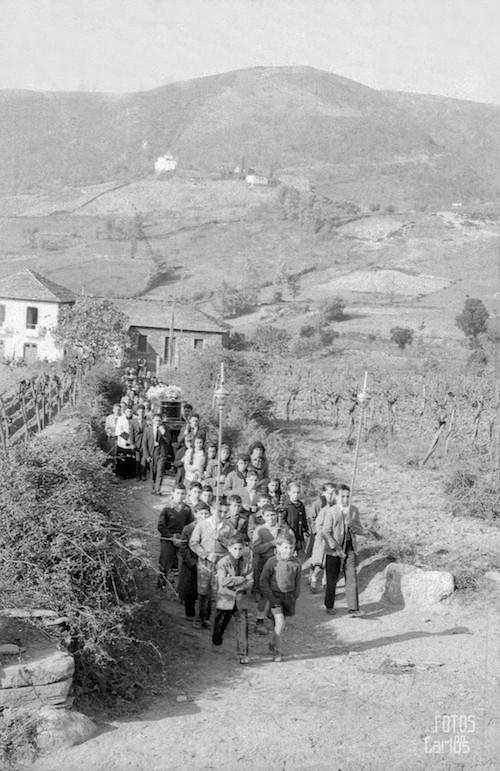 Entierro El Hospital (Quiroga), Noviembre 1958, as fotos do Carlos Diaz Gallego