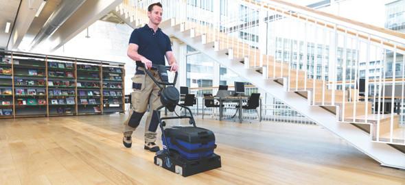 professioneel reinigen van houten vloeren   De stofvrij parket schuren specialist!