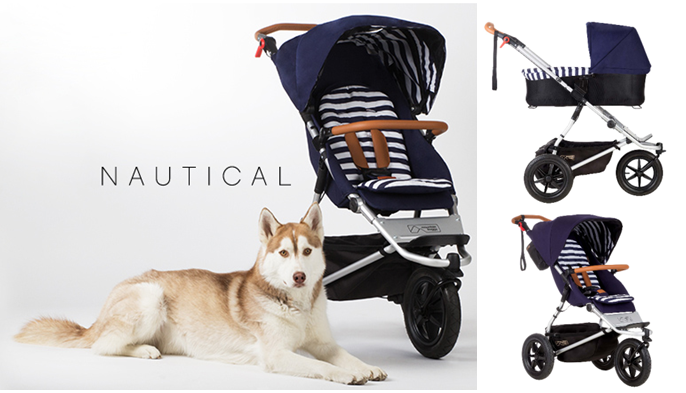 "mountain buggy ""Urban Jungle"" Luxury Edition 2015: Nautical"