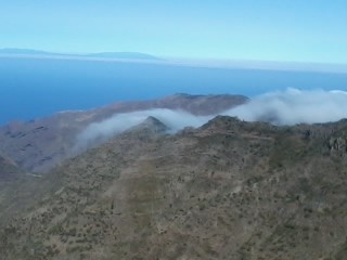 Clouds passing over the mountains, Teno, Tenerife
