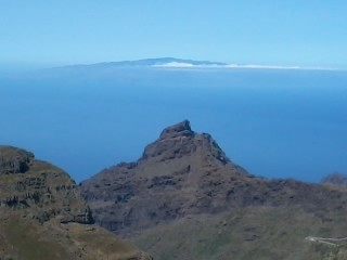 View to La Gomera, Tenerife