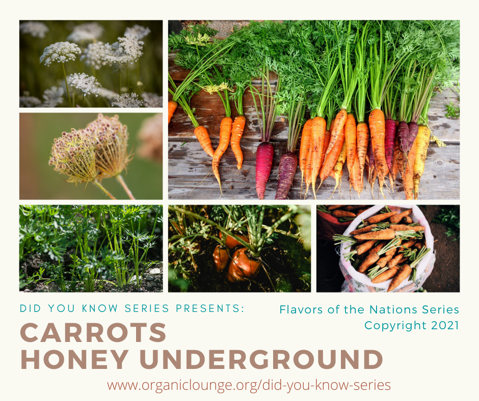 Carrots, Honey Underground