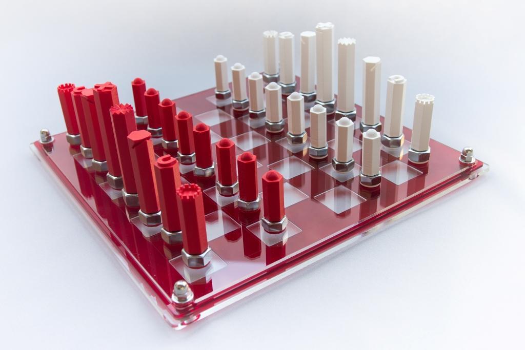 13 - jeu Hexagonal sur écrou : 210€