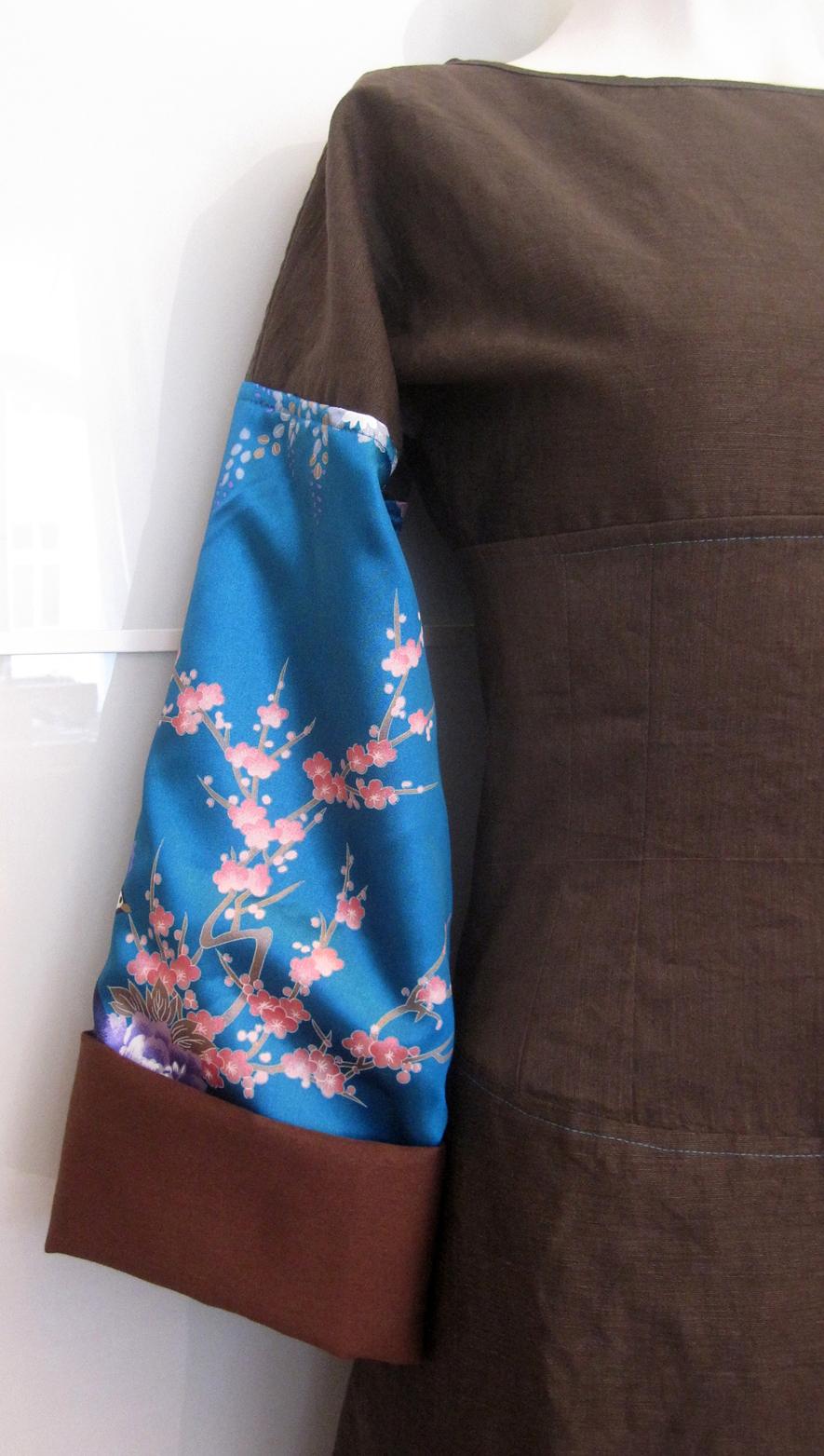 Kleid Yuzuki aus Mischgewebe