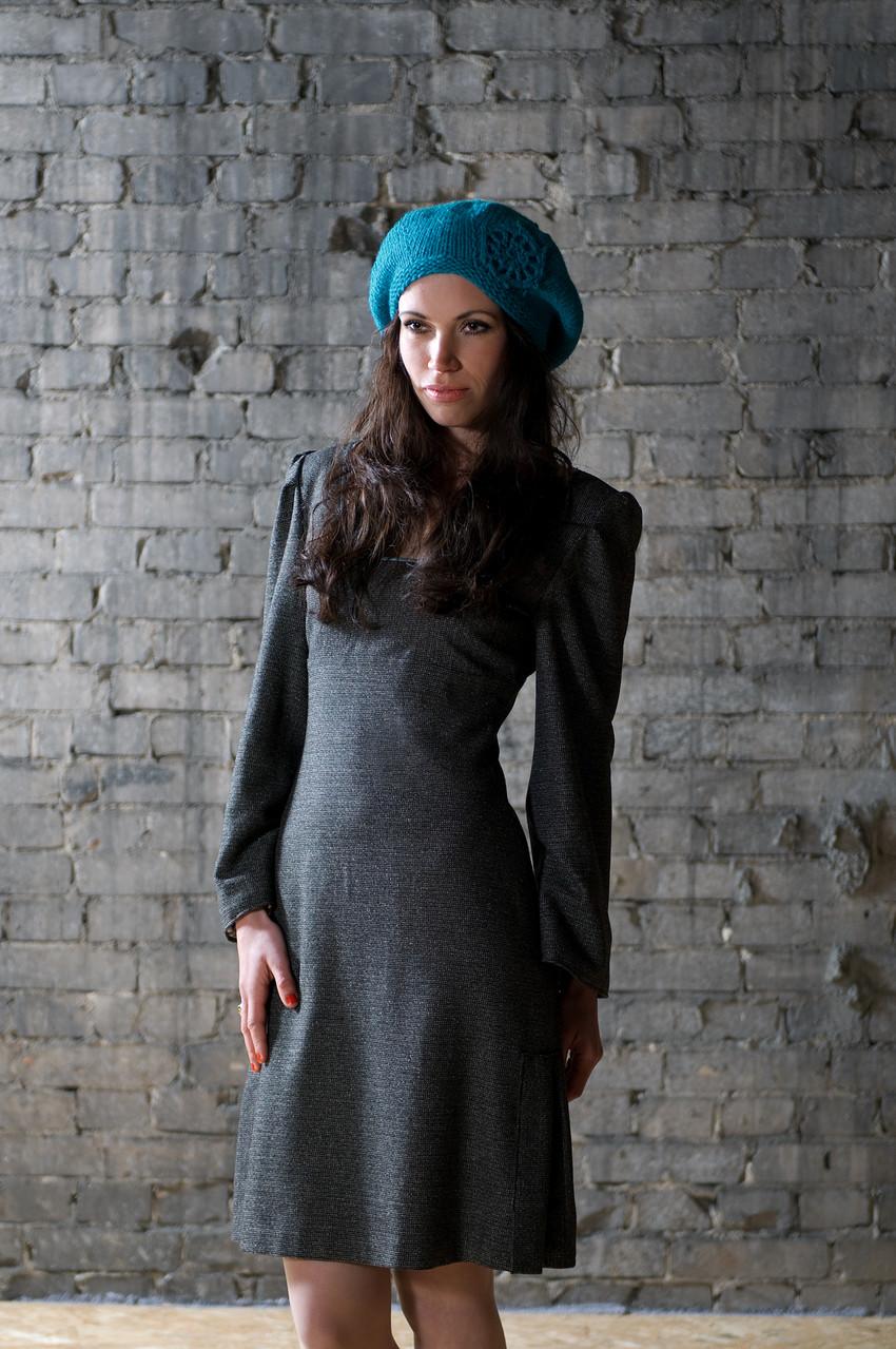 Kleid Danuta aus Wollmischgewebe, Mütze Laerke aus Schurwolle