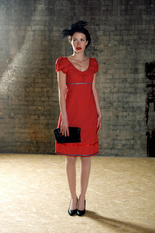 Kleid Adaliz aus Baumwolle