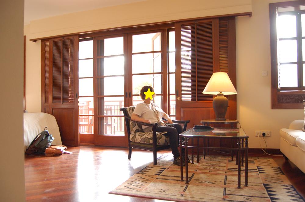ホテルはフラマリゾートダナン。ダナンのリゾートの先駆けです。古いけれどとてもきれいなホテルです。