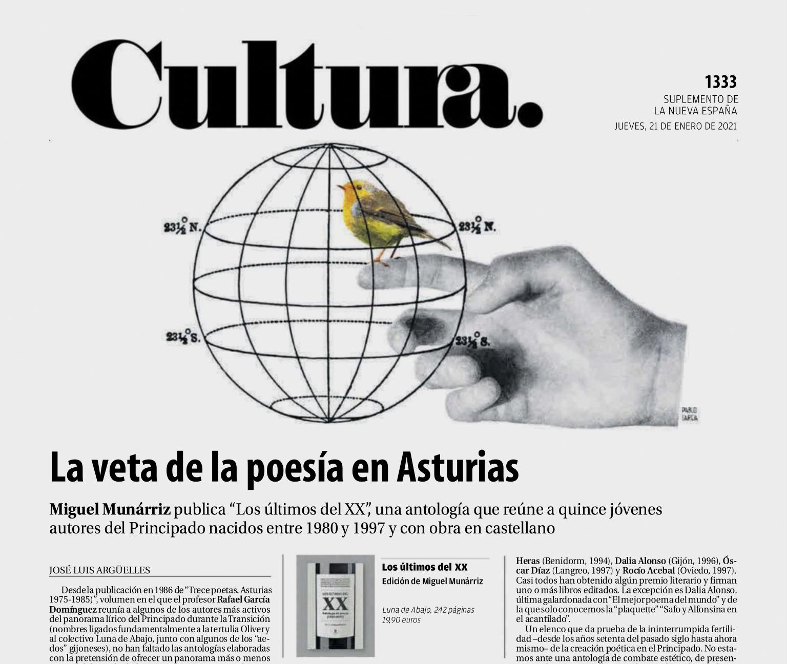 La veta de la poesía en Asturias