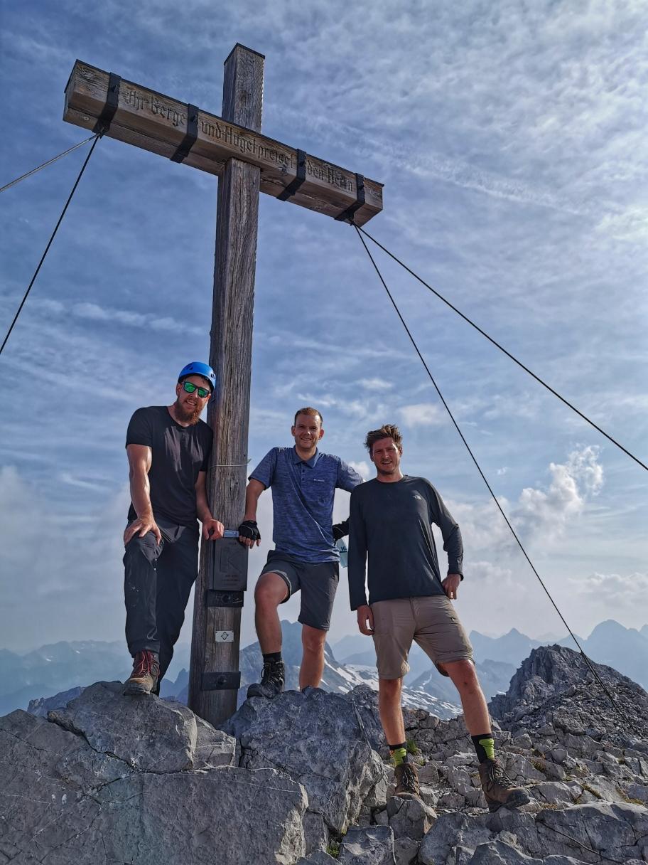 Am Gipfel des Hohen Lichts 2.651m