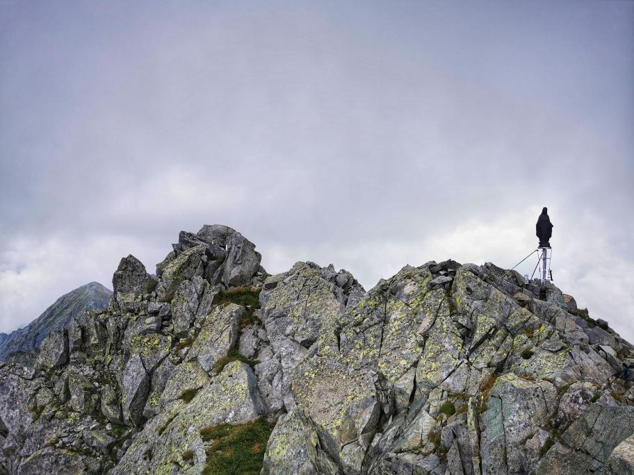 Am Gipfel der Cima Laione