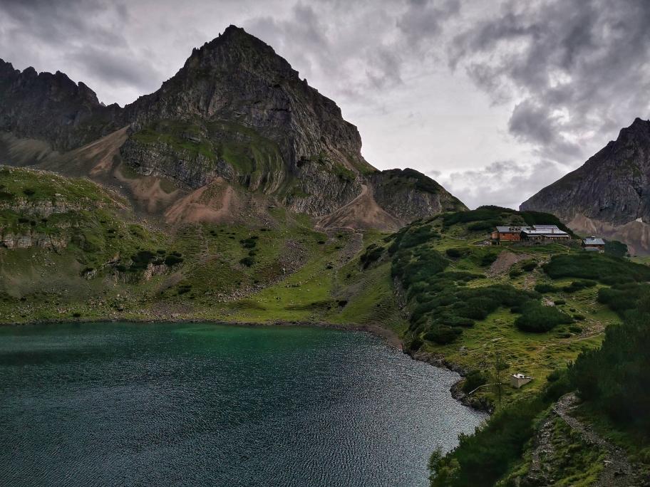 Drachenkopf, Drachensee und Coburger Hütte