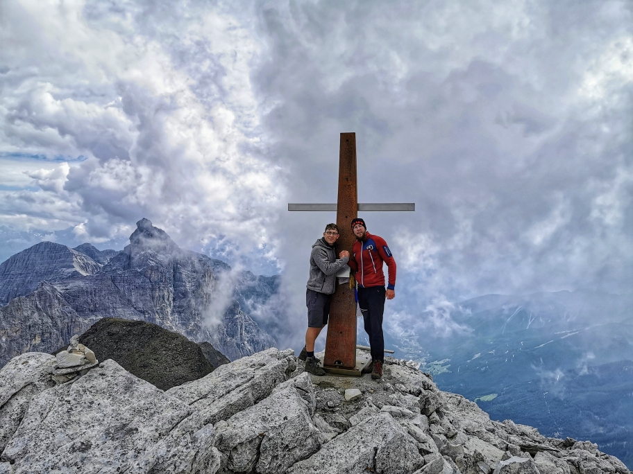 Summit! Weißwandspitze 3.017m