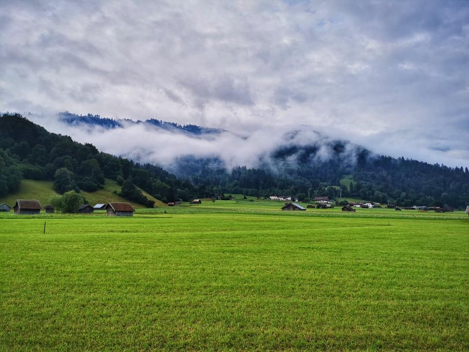 Morgenstimmung in Garmisch