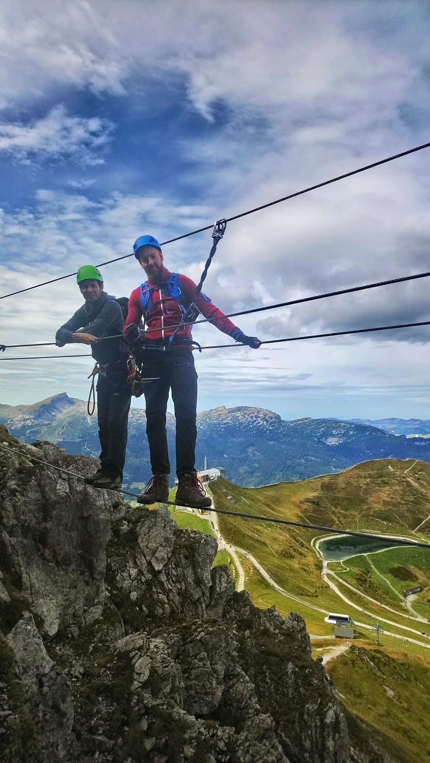 Abhängen mit Bergführer Martin 😎