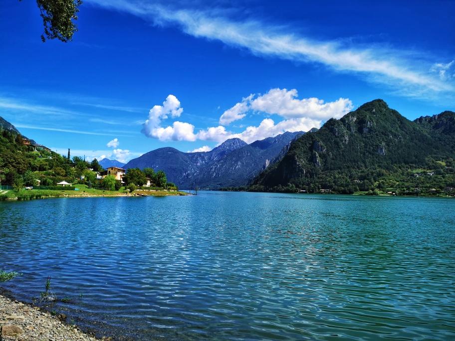 Blick auf den Lago d'Idro in Idro