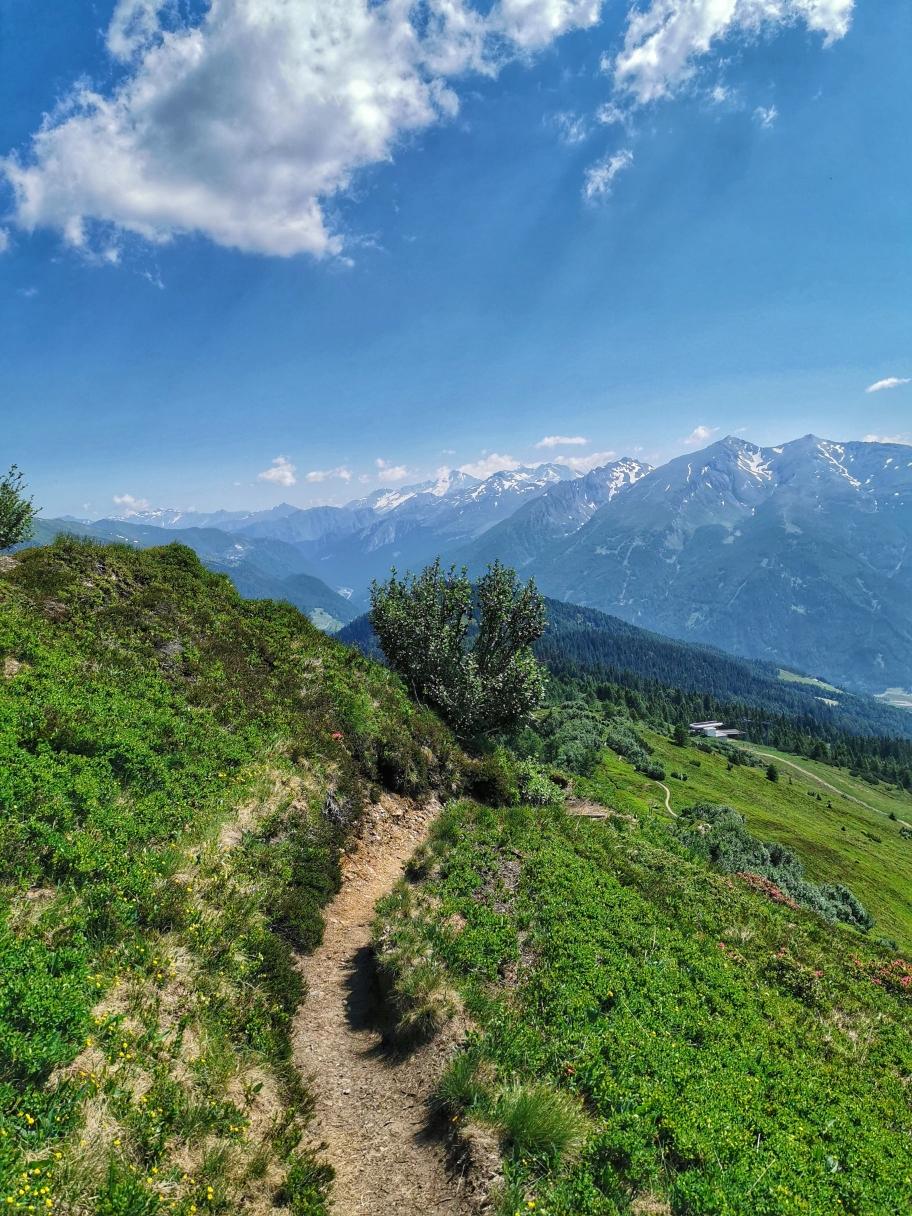 Beim Abstieg vom Rosskopf