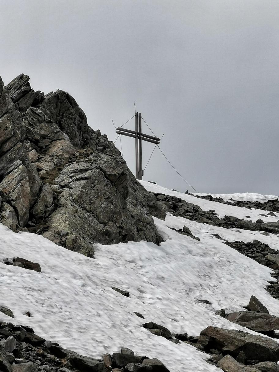 Kurz vor dem Gipfel des Defregger Pfannhorn 2.820m