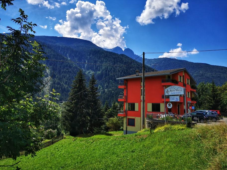 Mein Tagesziel: Hotel Alta Valle in Vione