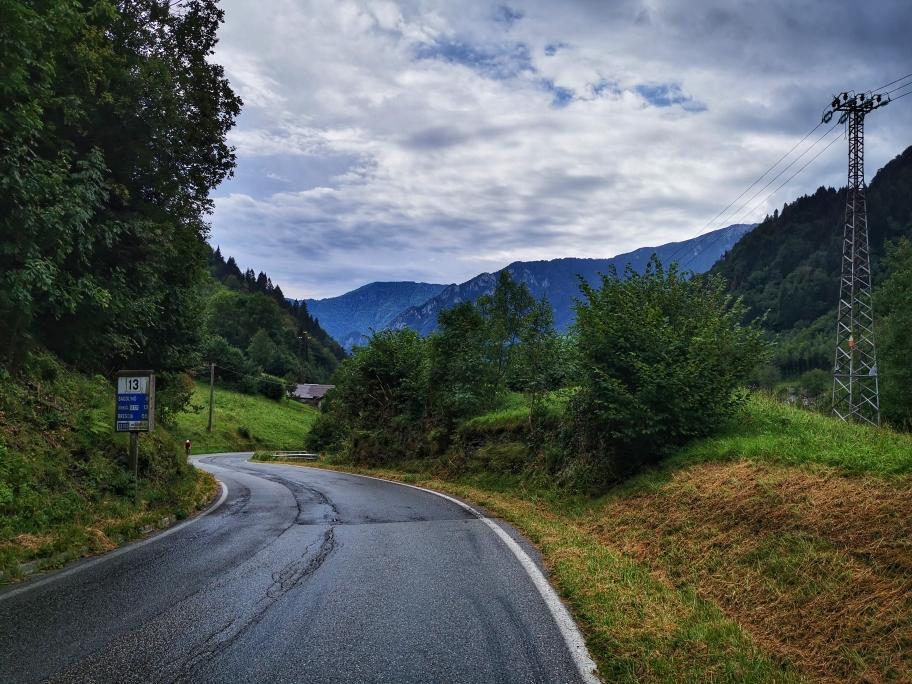 Die Straße nach Bagolino