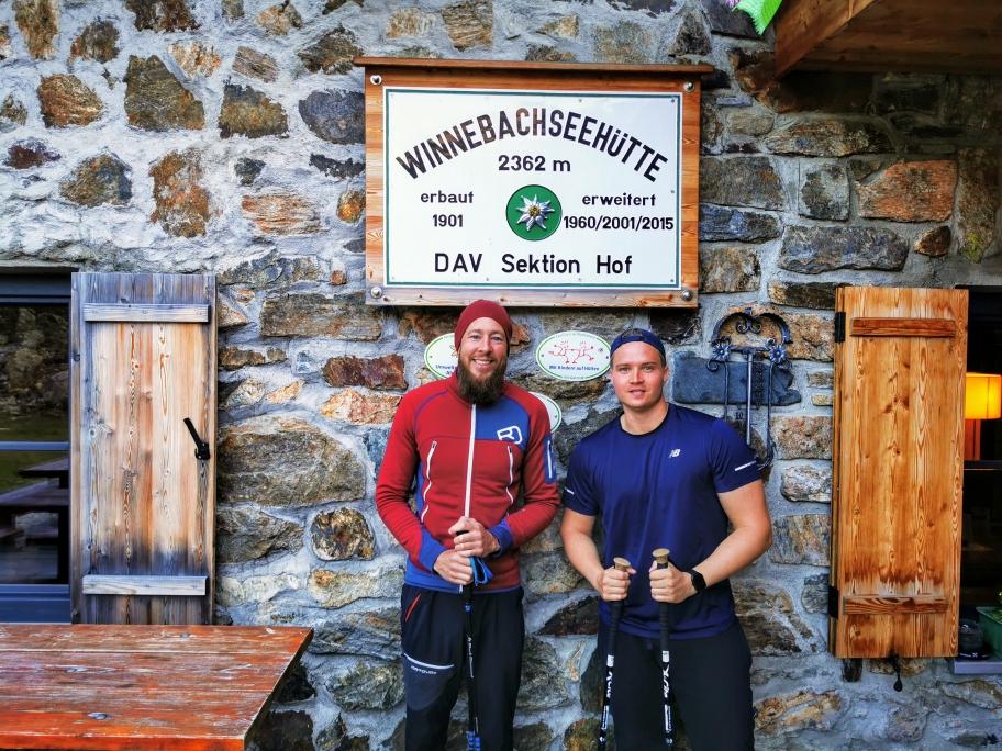 Mit Max an der Winnebachseehütte