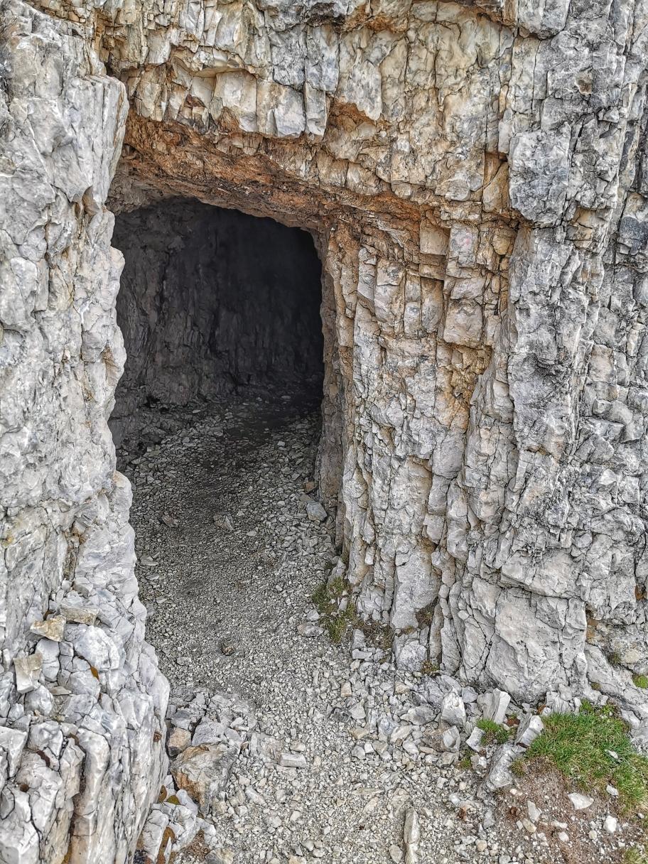 Eingang zum Stollen