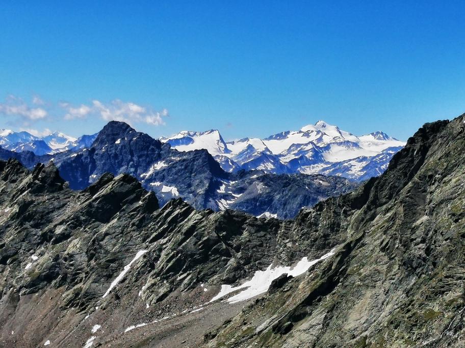 Die 3.000er der Ötztaler Alpen liegen jetzt vor mir
