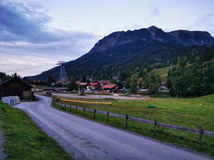 Nebelhornbahn - jetzt sind wir endlich am Ziel