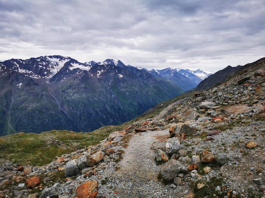Auf dem Ötztaler Höhenweg