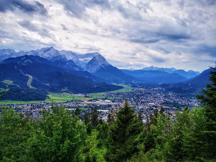 Garmisch und seine Zugspitze