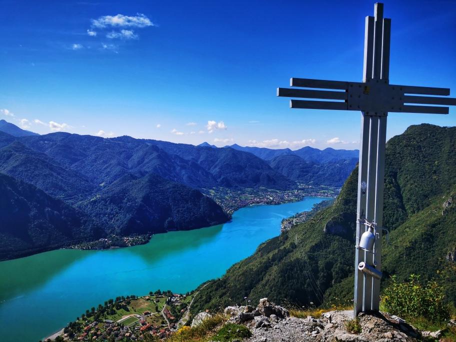 Am Monte Censo liegt mir der Lago d'Idro zu Füßen