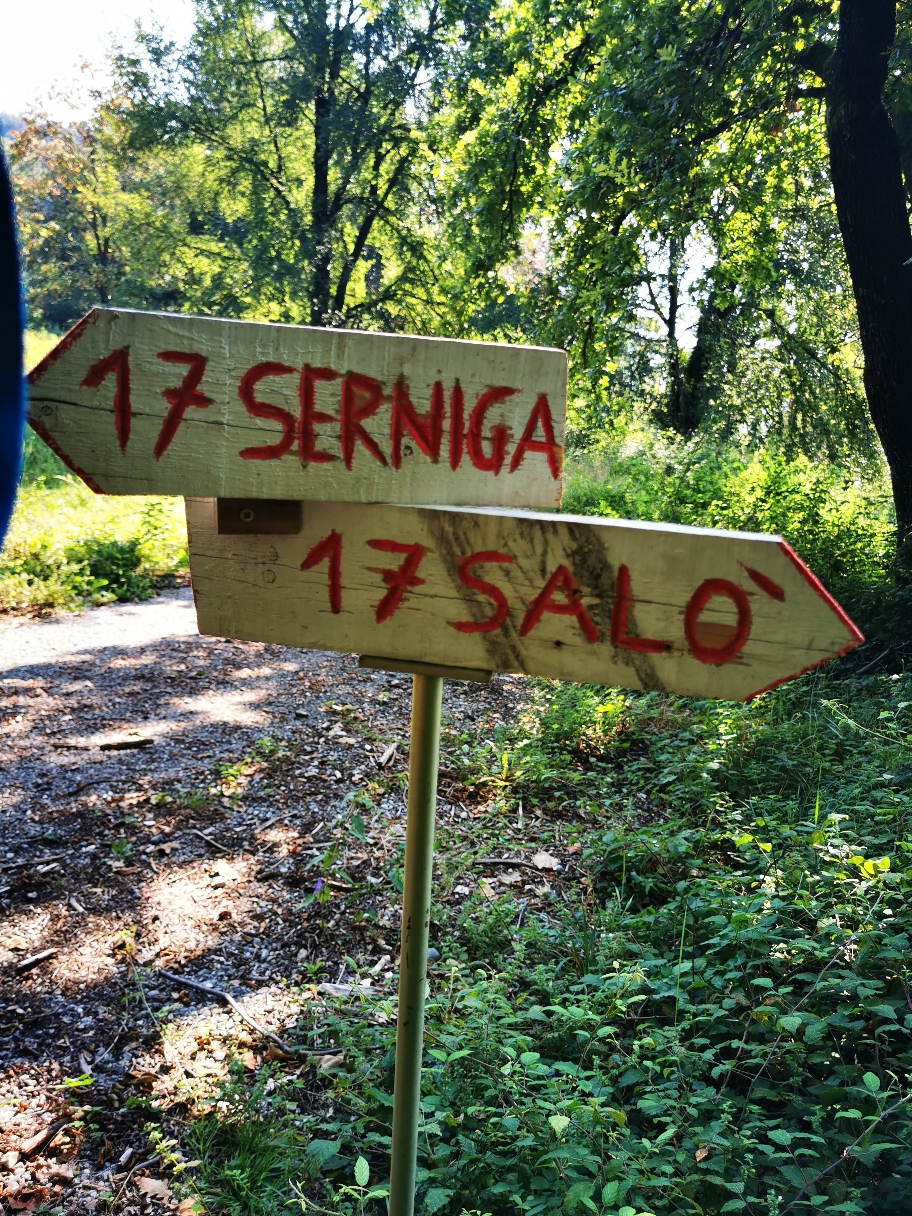 Auf dem Weg zum großen Ziel: Salo am Lago di Garda