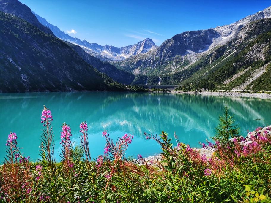 Traumhafte Aussicht am Lago d'Avio