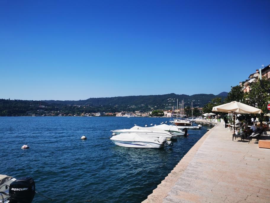 Am Ziel: Am Ufer des Lago di Garda