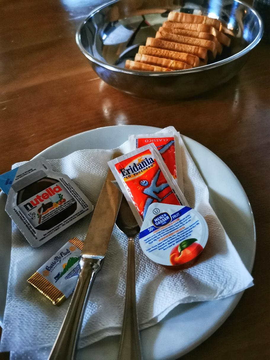 Italienisches Frühstück 🙄
