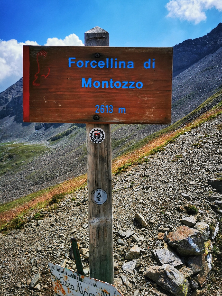 An der Forcellina di Montozzo auf 2.613m