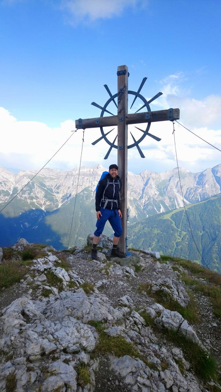 Summit! Hoher Burgstall 2.611m