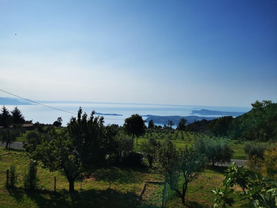 ... den Gardasee bereits gut im Blick