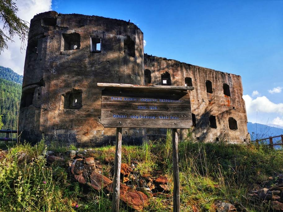 Die Festung Forte Austro