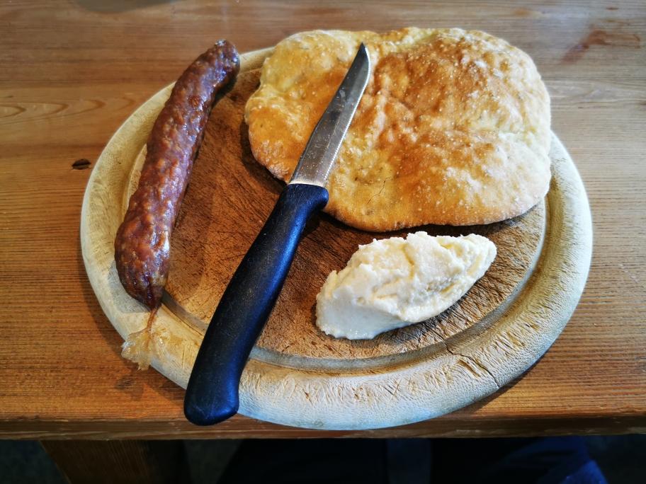 Meine erste Südtiroler Mahlzeit