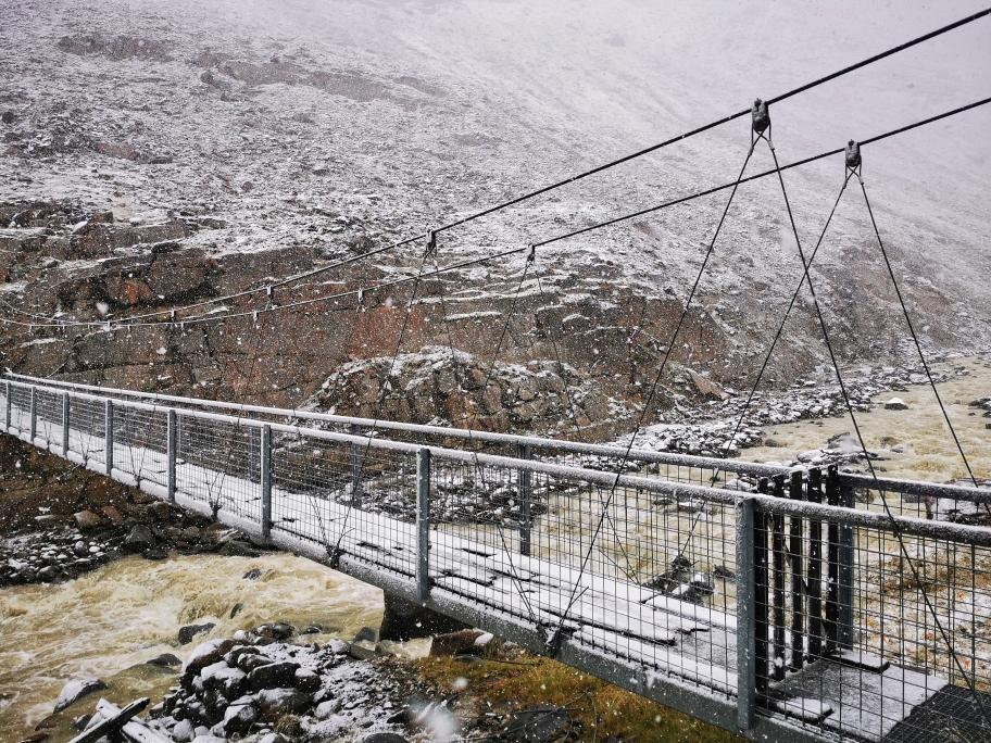 Brücke über die Rofenache