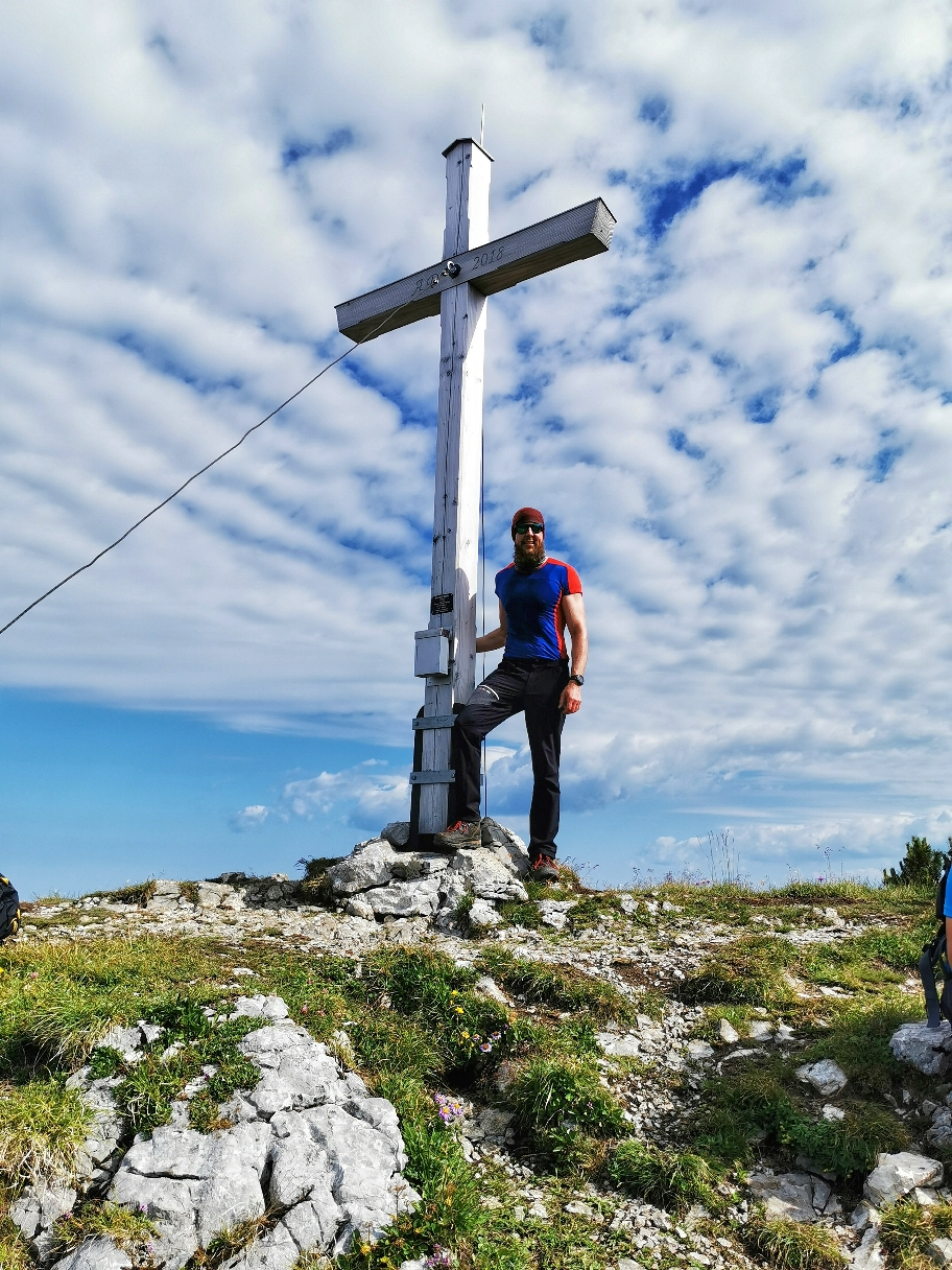 Am Gipfel des Bischof